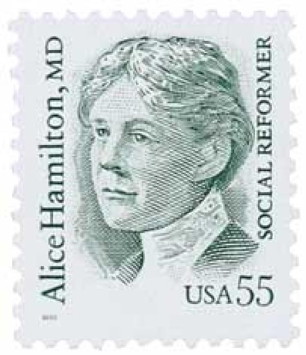 1995 55c Great Americans: Alice Hamilton, M.D.