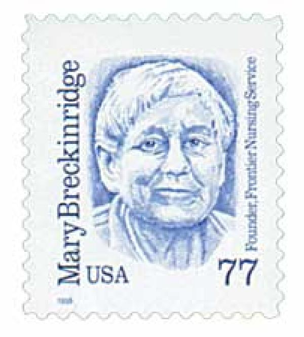 1998 77c Great Americans: Mary Breckinridge