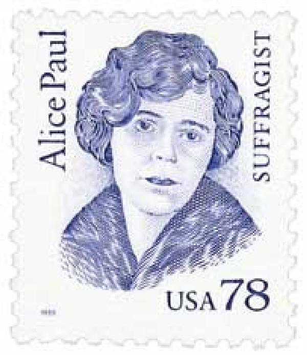 1995 78c Great Americans: Alice Paul