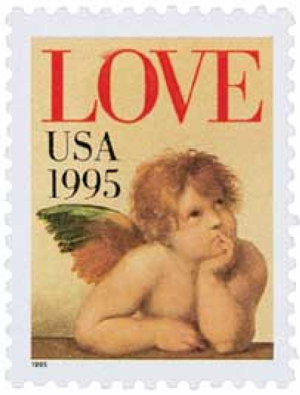 1995 32c Love Series: Cherub
