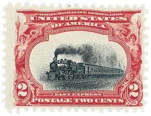 1901 2c Pan-American Exposition: Empire State Express