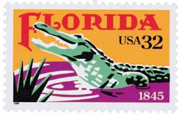 1995 32c Florida Statehood