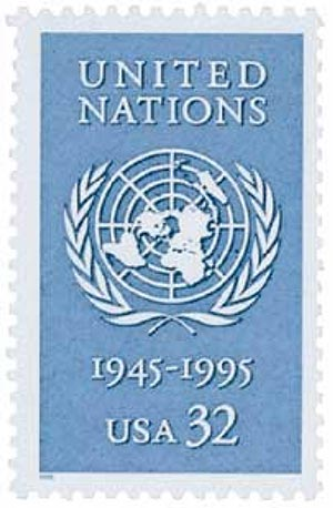 1995 32c United Nations 50th Anniversary