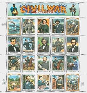 1995 32c Civil War