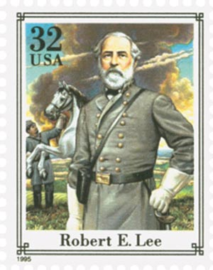 1995 32c Civil War: Robert E. Lee
