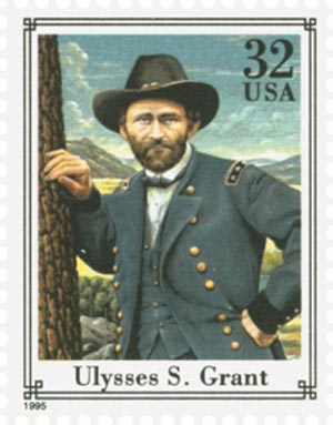 1995 32c Civil War: Ulysses Grant