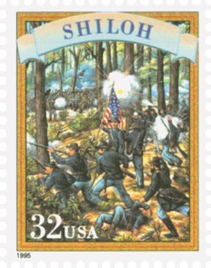 1995 32c Civil War: Shiloh