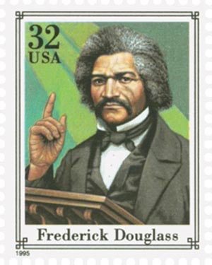 1995 32c Civil War: Frederick Douglass