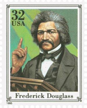1995 32c Civil War: Frederick Douglass