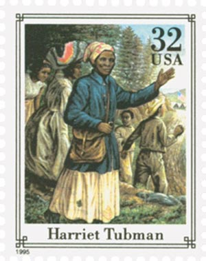 1995 32c Civil War: Harriet Tubman