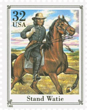 1995 32c Civil War: Stand Watie