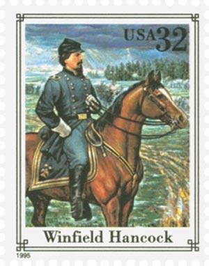 1995 32c Civil War: Winfield Hancock