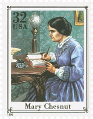 1995 Mary Chesnut stamp