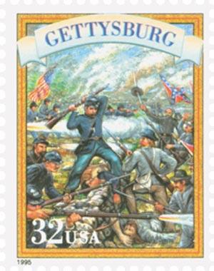 1995 32c Civil War: Gettysburg
