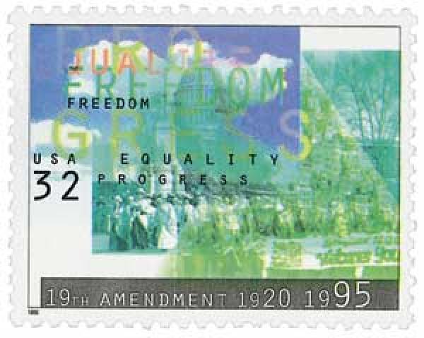 1995 32c Womens Suffrage