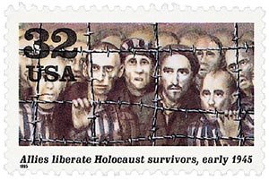 1995 32c Allies liberate Holocaust survivers