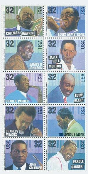 1995 32c Jazz Musicians