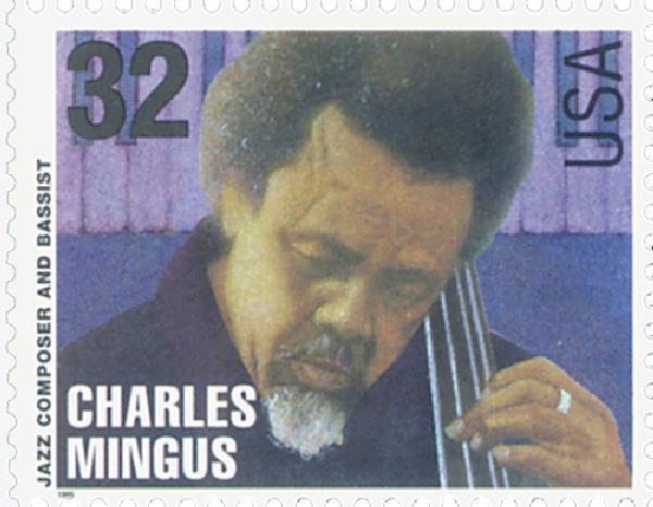 1995 32c Jazz Musicians: Charles Mingus