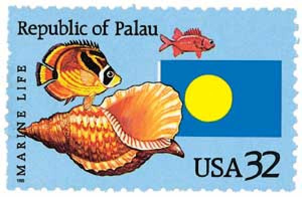 1995 32c Republic of Palau