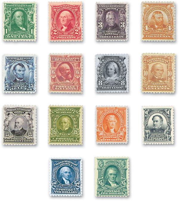 Complete Set, 1902-03 Series (Second Bureau Series)