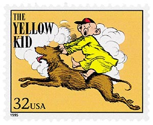 1995 32c 'The Yellow Kid'