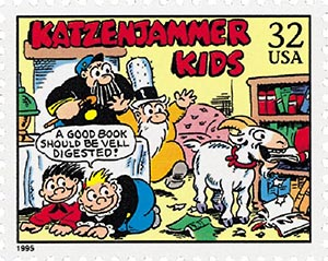1995 32c Comic Strip Classics: Katzenjammer Kids