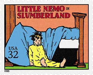 1995 32c 'Little Nemo in Slumberland'