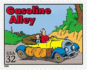 1995 32c 'Gasoline Alley'