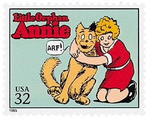 1995 32c Comic Strip Classics: Little Orphan Annie