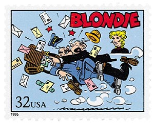 1995 32c Comic Strip Classics: Blondie