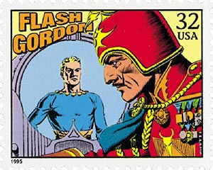 1995 32c 'Flash Gordon'