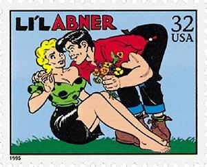 1995 32c Comic Strip Classics: Lil Abner