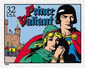 1995 32c Comic Strip Classics: Prince Valiant