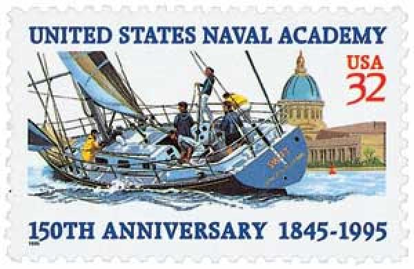 1995 32c United States Naval Academy