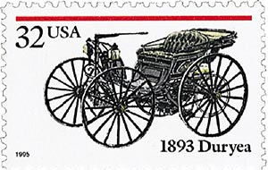U.S. #3019 from the Antique Autos set.