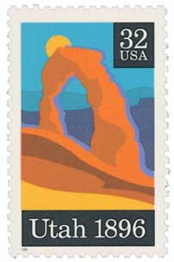 1996 32c Utah Statehood
