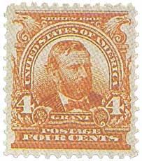 1903 4c Grant, brown