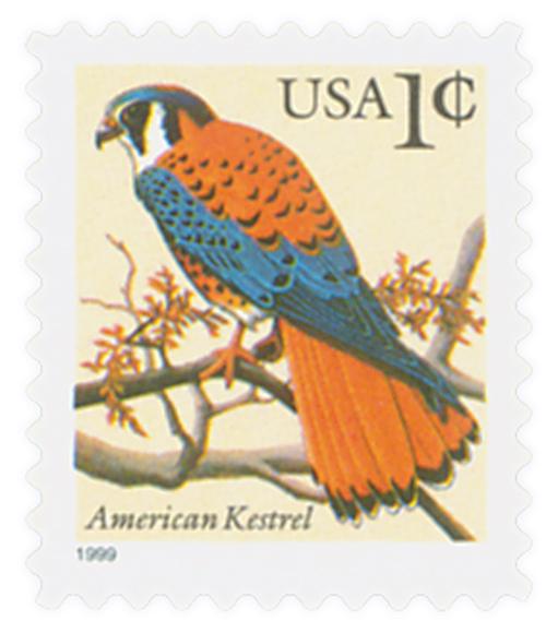 1999 1c American Kestrel