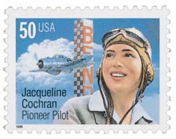 1996 50c Jacqueline Cochran