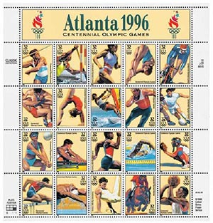 1996 32c Olympic Games