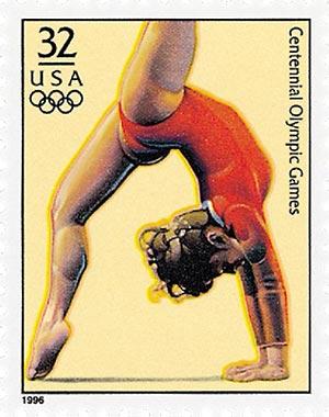 1996 32c Olympic Games: Womens Gymnastics