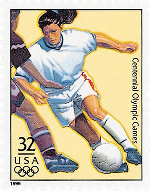 1996 32c Olympic Games: Womens Soccer