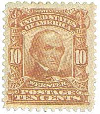 1903 10c Webster