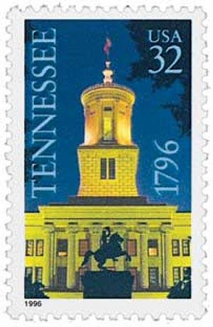 1996 32c Tennessee Statehood