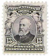1902 13c B Harrison