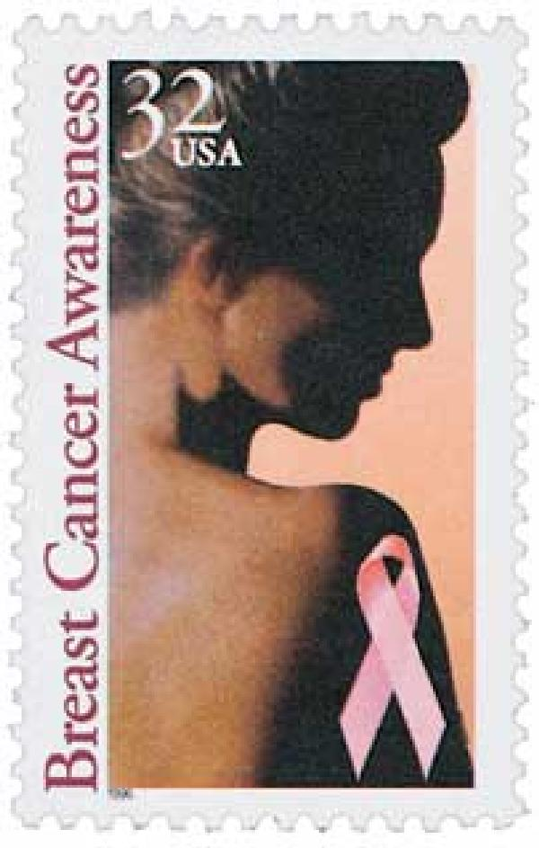 1996 32c Breast Cancer Awareness