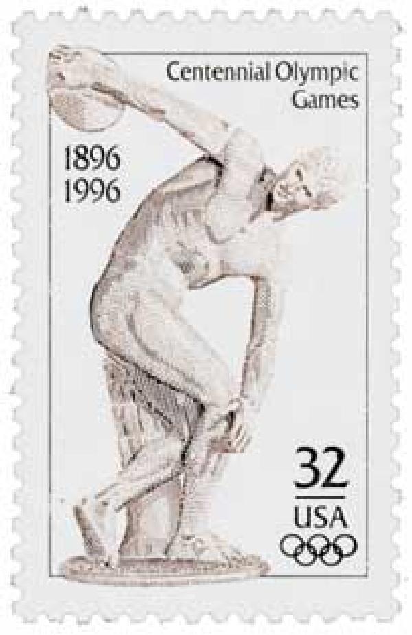 1996 32c Centennial Olympic Games