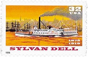 1996 32c Riverboats: Sylvan Dell