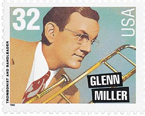 1996 32c Big Band Leaders: Glenn Miller