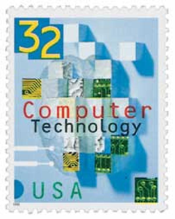 1996 32c Computer Technology